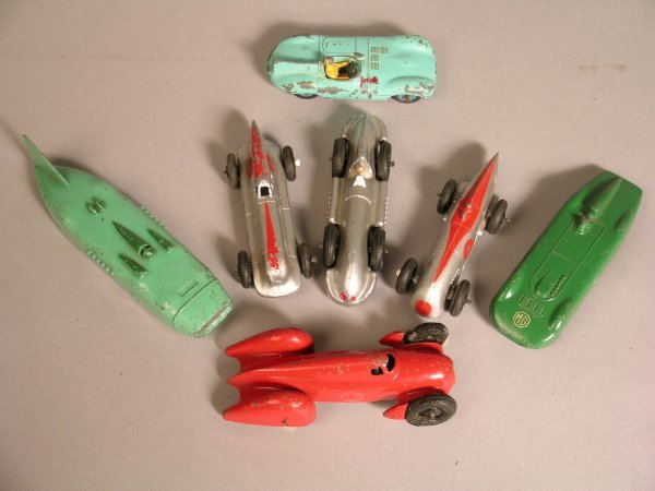 5D: Dinky racing cars to include 23d Auto-Union, red wi