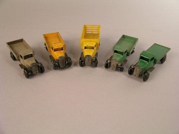 8D: Dinky: 25f Market Gardener's lorry, yellow body, bl