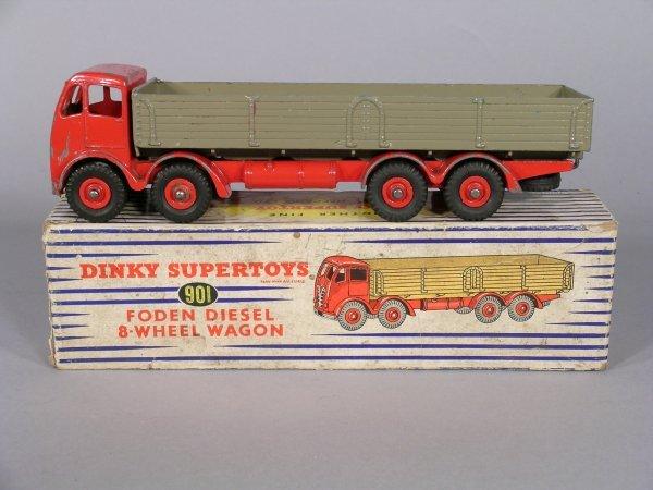 20D: Dinky Supertoys 901 Foden Diesel eight-wheel wagon