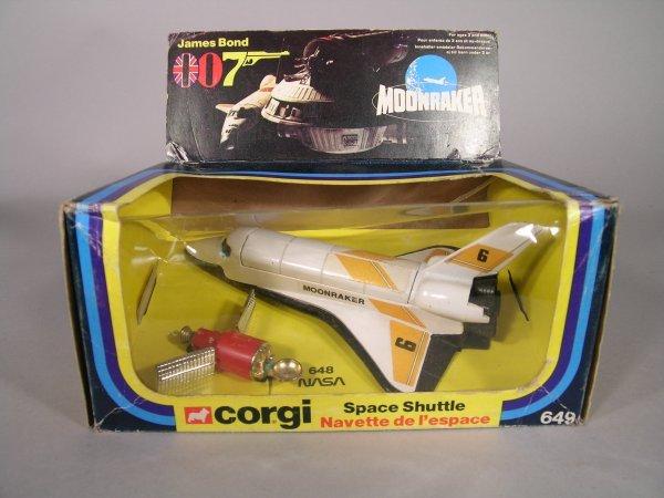 24D: Corgi 649 James Bond 007 Moonraker Space Shuttle,