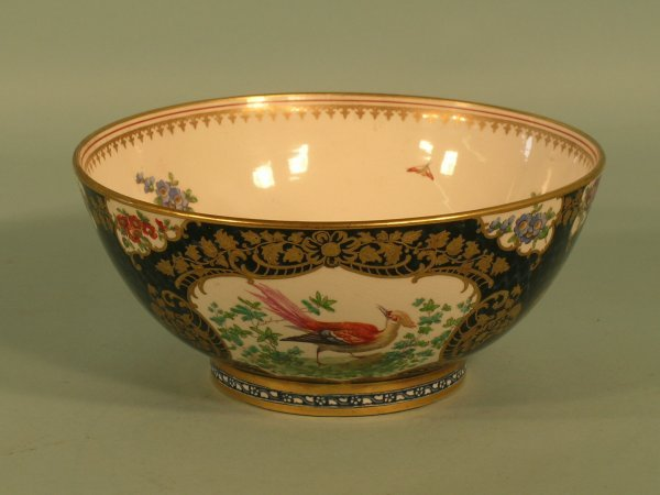 9: A Booths earthenware bowl early 20th century
