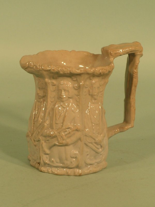 11: A Distin family jug, 19th century