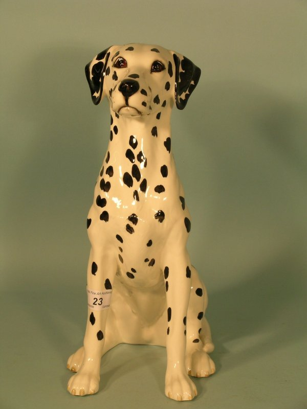 23B:A Beswick Dalmatian from the Fireside Models series