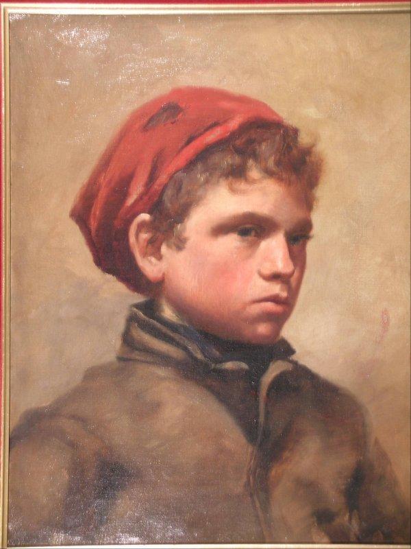 359B: English School, circa 1900, 'Portrait of a young