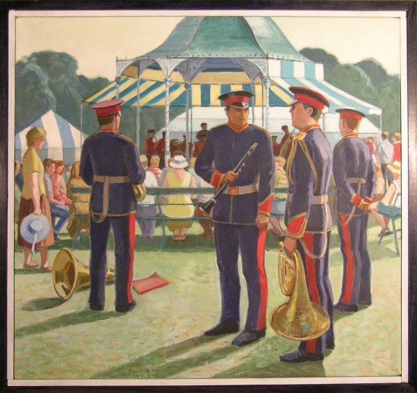 15D: Martin Eldridge 'The Bandstand, Shrewsbury Flower