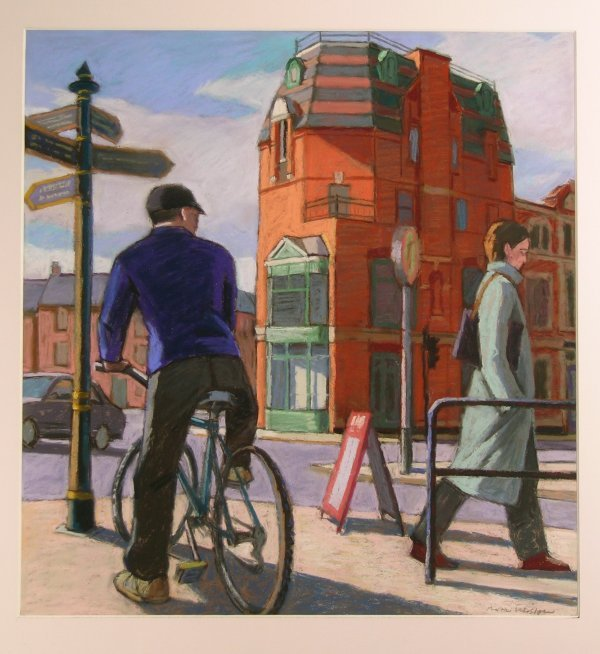 17D: Martin Eldridge 'Outside Shrewsbury Station', past