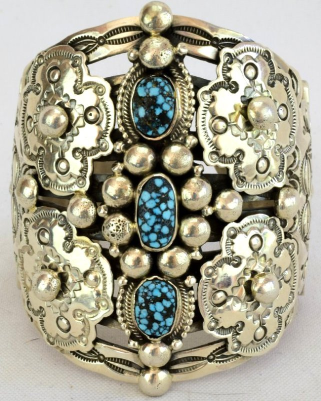 Wallace Yazzie, Jr. {rip}  Collector Cuff Bracelet
