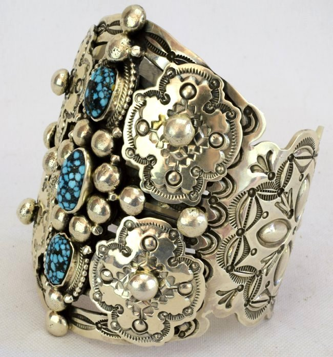 Wallace Yazzie, Jr. {rip}  Collector Cuff Bracelet - 2