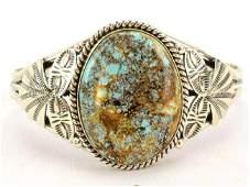 Mary Ann Spencer Manassa Turquoise Bracelet