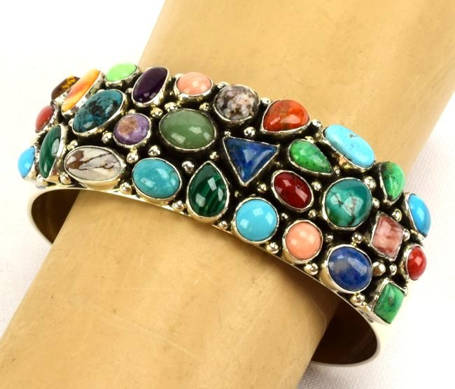 Emer Thompson Sterling Multi-Stone Bracelet