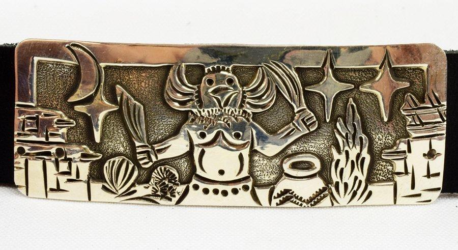 Masterpiece Sterling  Kachina Concho Belt -  L.Becenti - 7