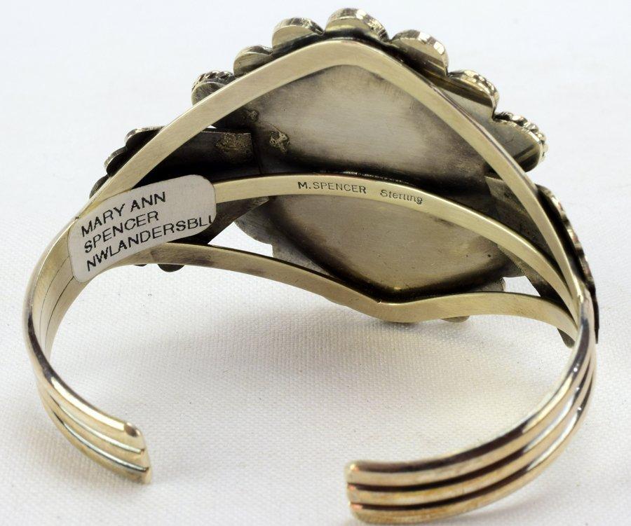 New Lander  Turquoise Bracelet - Mary Ann Spencer - 4
