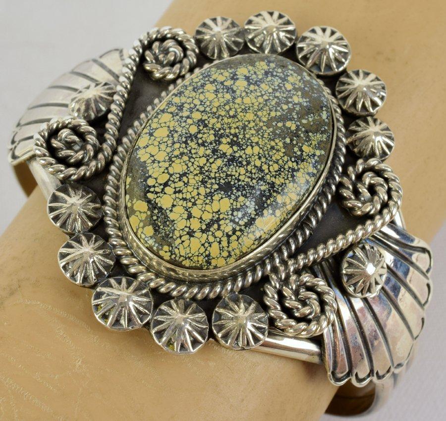 New Lander  Turquoise Bracelet - Mary Ann Spencer - 5