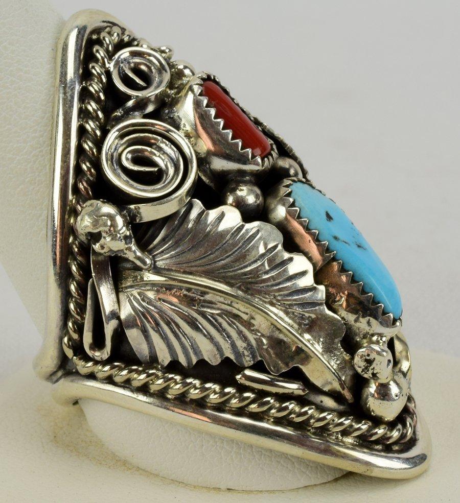 Navajo Sterling Large Men's Ring