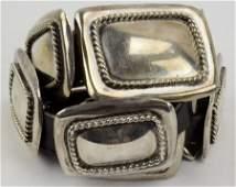 Navajo Old Pawn Vintage Sterling Concho Belt