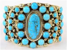 Kathleen Chavez Sleeping Beauty Turquoise Bracelet