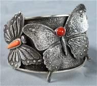 Kelsey Jimmie Tufa Cast Butterfly Bracelet w/Stones