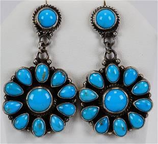 Tyler Brown Sleeping Beauty Turquoise Earrings