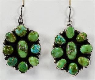 Eleanor Largo Sterling Sonoran Gold Cluster Earrings