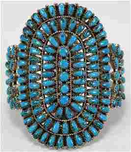 Sleeping Beauty Turquoise Bracelet by Justina Wilson
