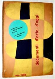 Documenti d'arte d'oggi MAC 1958. Original artworks