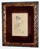 Renoir, Pierre-Auguste: Baigneuse 1910 Original Etching
