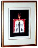 Erte: Broadway In Fashion 1978 Embossed, Signed, Framed