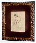 Pierre-Auguste Renoir: Baigneuse Debout, 1910 Etching