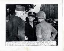 Eisenhower  Omar Bradley Liberated Paris 8271944