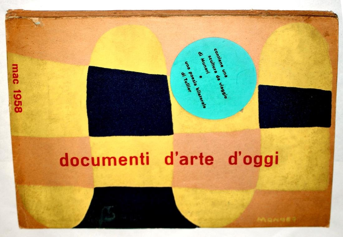 Documenti dArte dOggi 1958 MAC Abstract Art Almanac