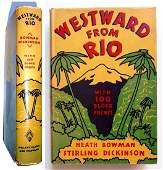 Westward from Rio 100 Block Prints 1936 Chicago