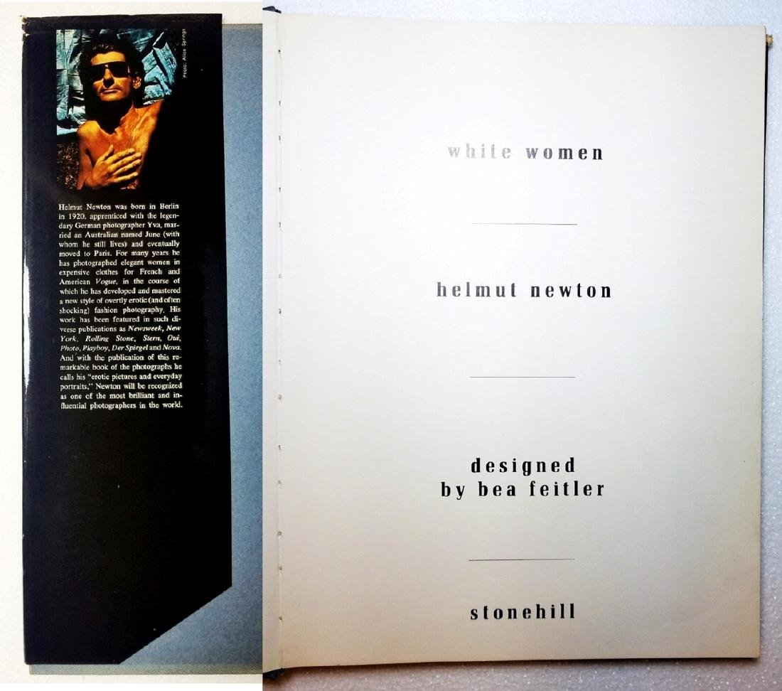 Helmut Newton: White Women. 1976 First Print, First Ed - 4