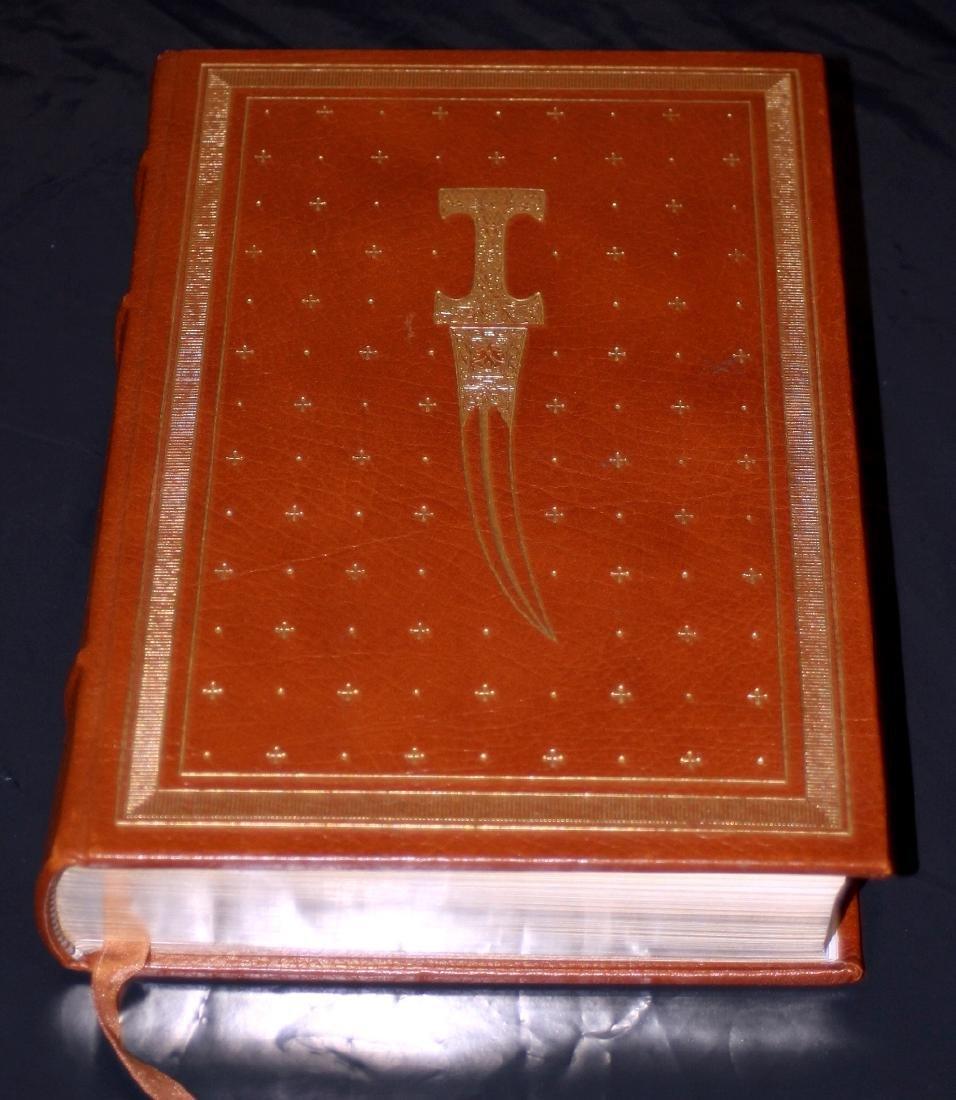 Leon Uris: The Haj. Signed 1st Ed. Franklin Lib. 1984 - 2