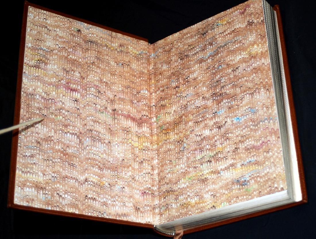 Leon Uris: The Haj. Signed 1st Ed. Franklin Lib. 1984 - 4