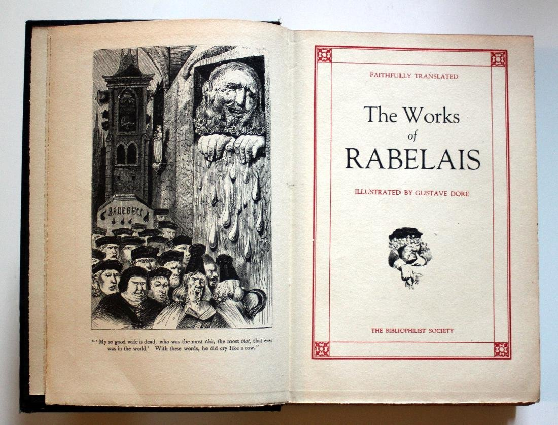The Works of Rabelais Illustrated by Gustave Dore, 1930