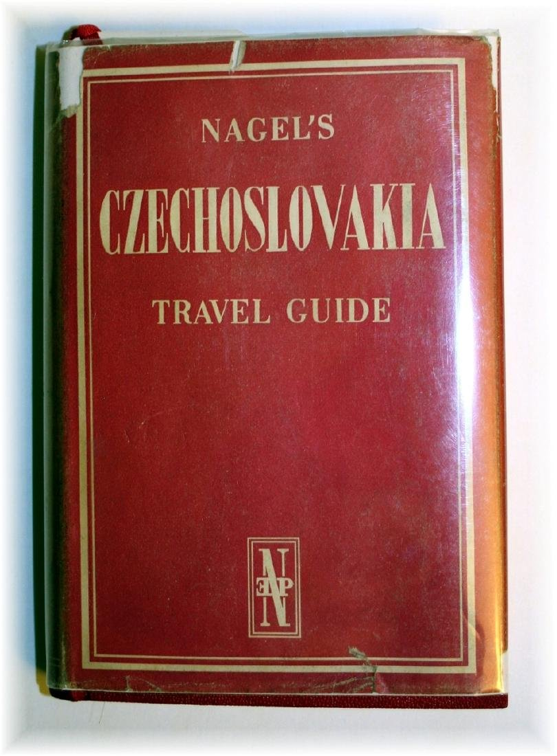 Czechoslovakia Nagel Travel Guide, 1966