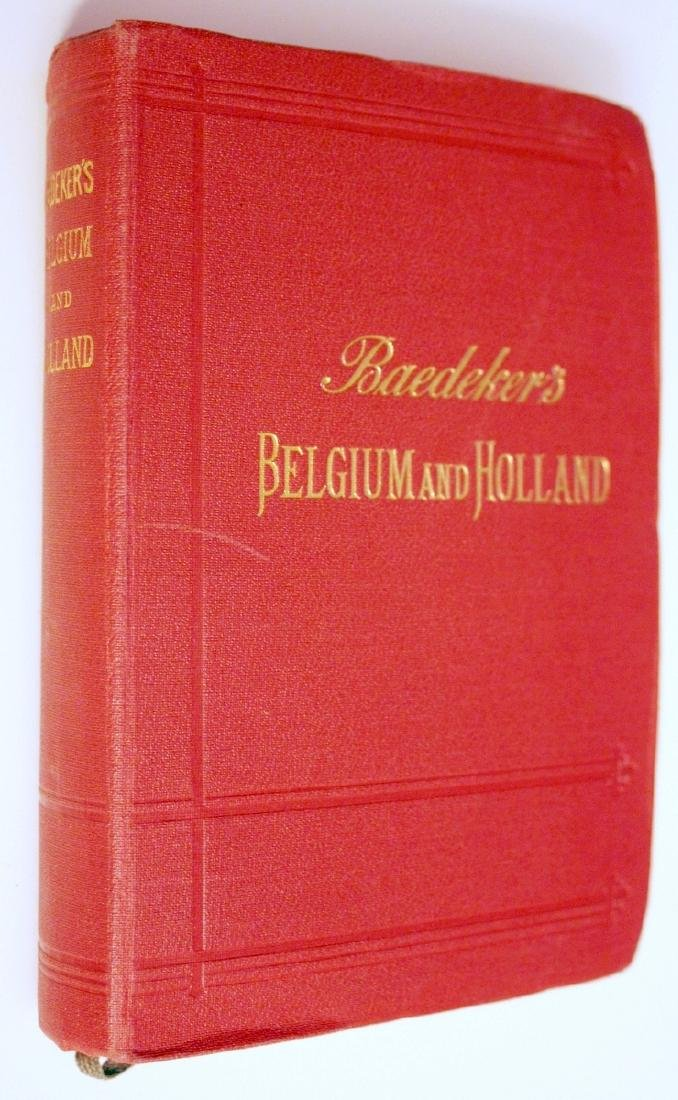 Baedeker 1910 Guide: Belgium & Holland with Luxembourg
