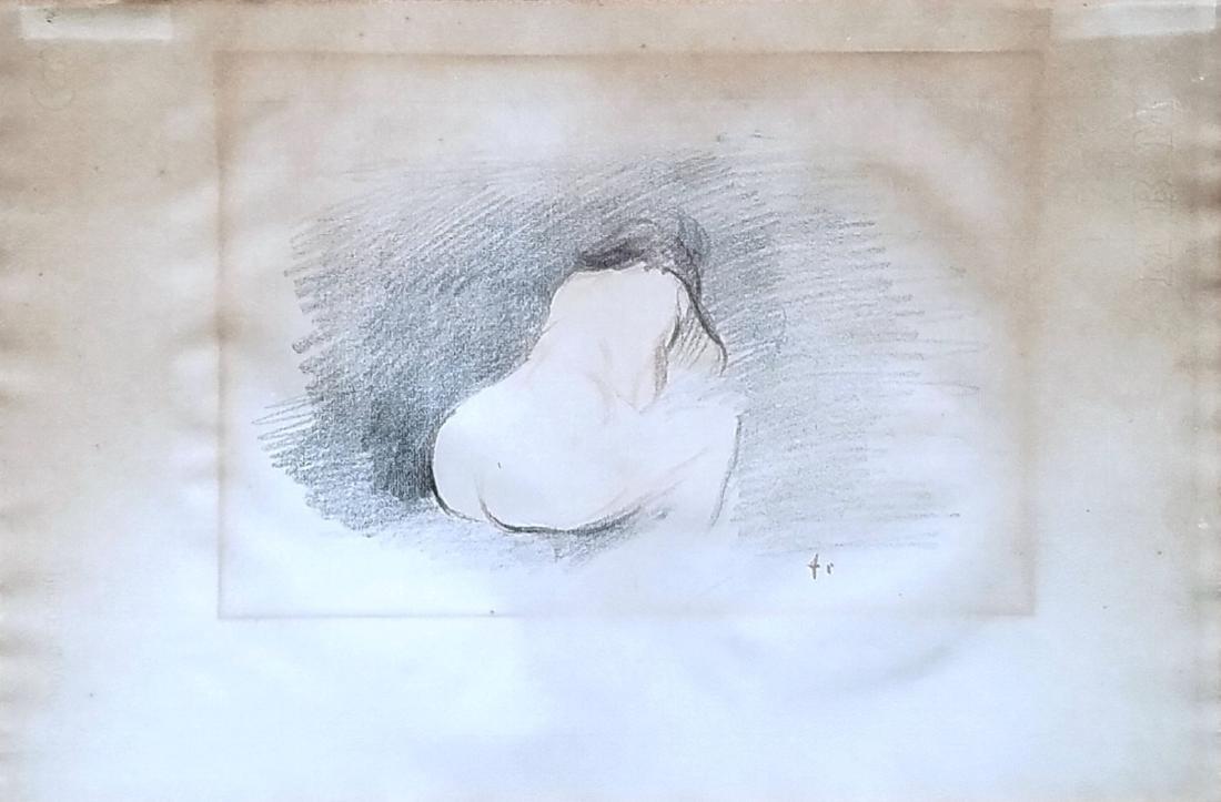 Jean Louis Forain: Etude de Nu, Vue de Dos. c.1898-1902
