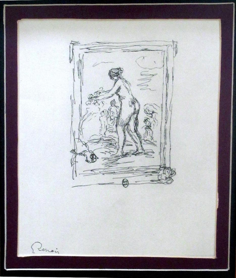 Renoir: Femme Au Cep de Vigne (3), Vollard Suite, 1951