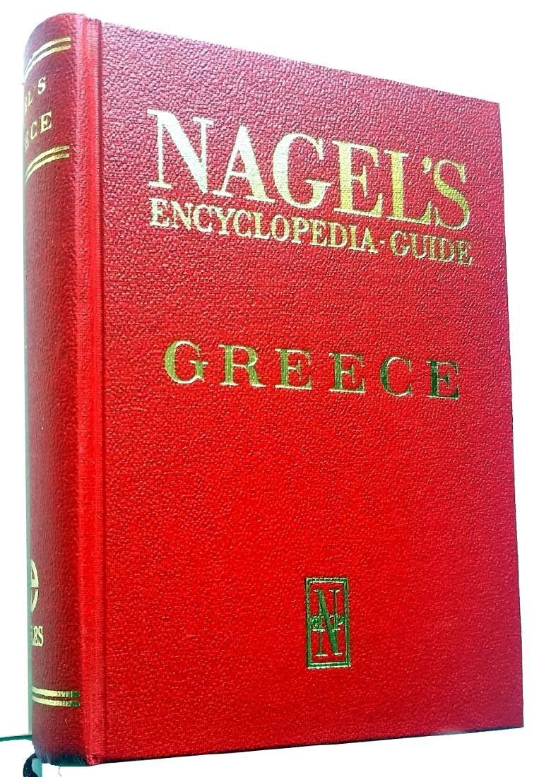 Greece. Nagel Travel Guide. 1968, Geneva