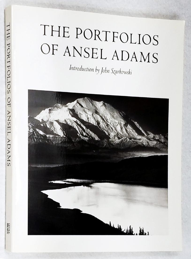The Portfolios of Ansel Adams. 1990, 10th Printing