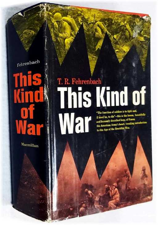 This Kind of War, Fehrenbach, T.R.