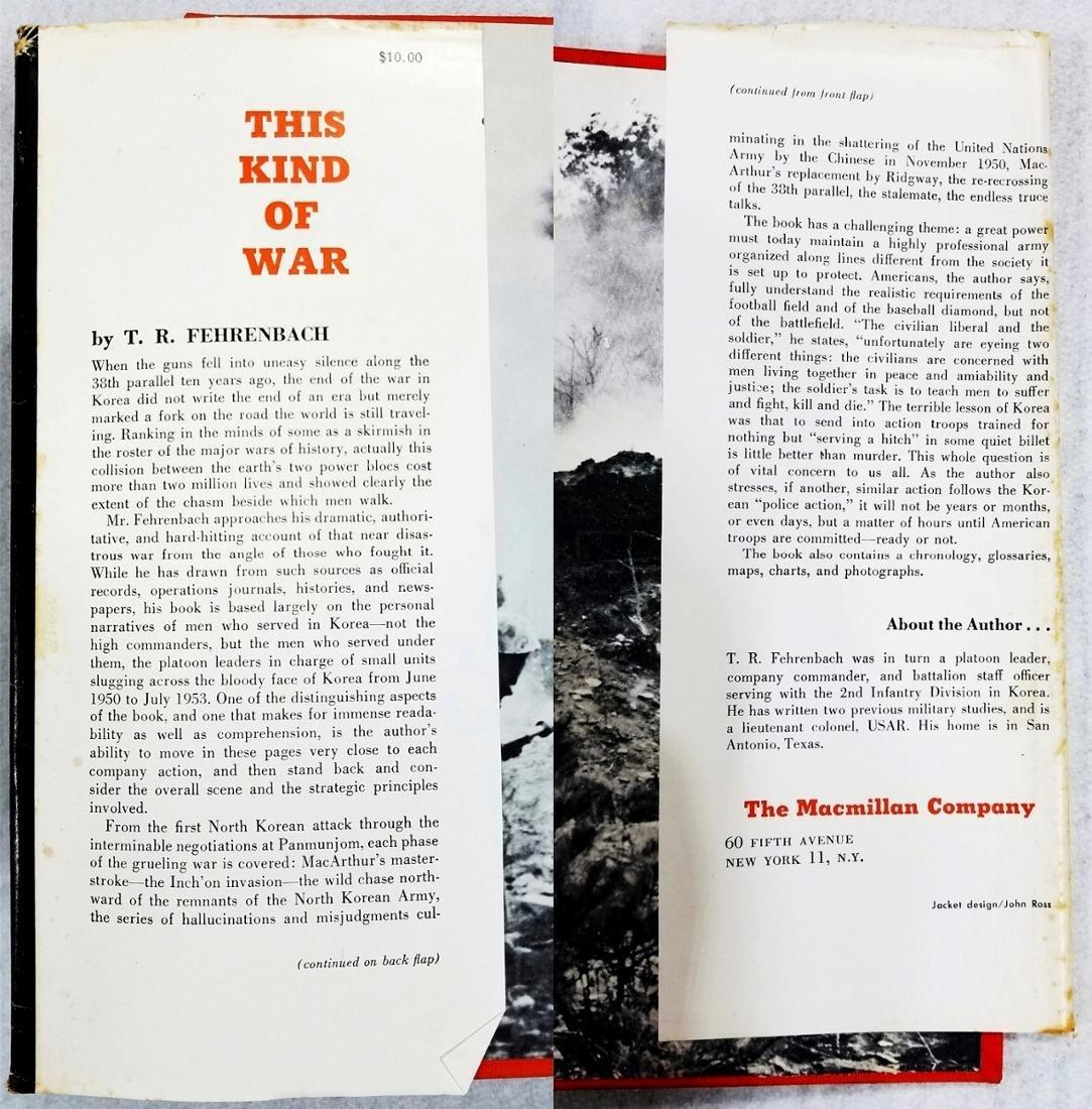 This Kind of War (War in Korea Study). 1963. 1st Print - 5
