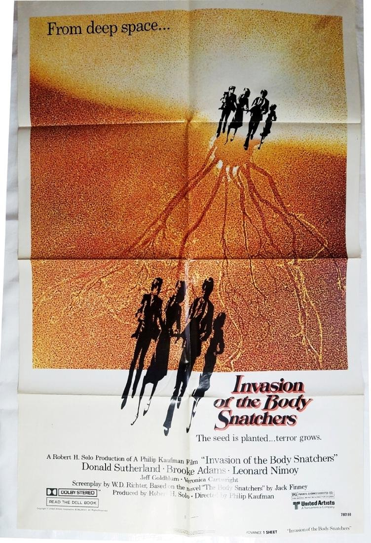 Invasion of the Body Snatchers 1978 Original Poster