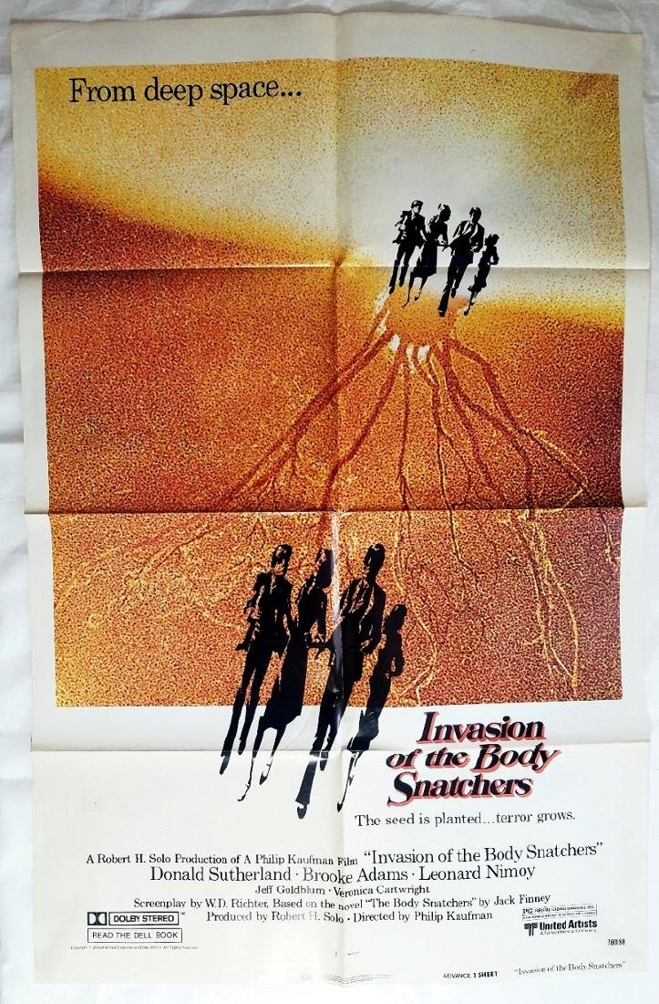 Invasion of the Body Snatchers 1978 Original Poster - 2