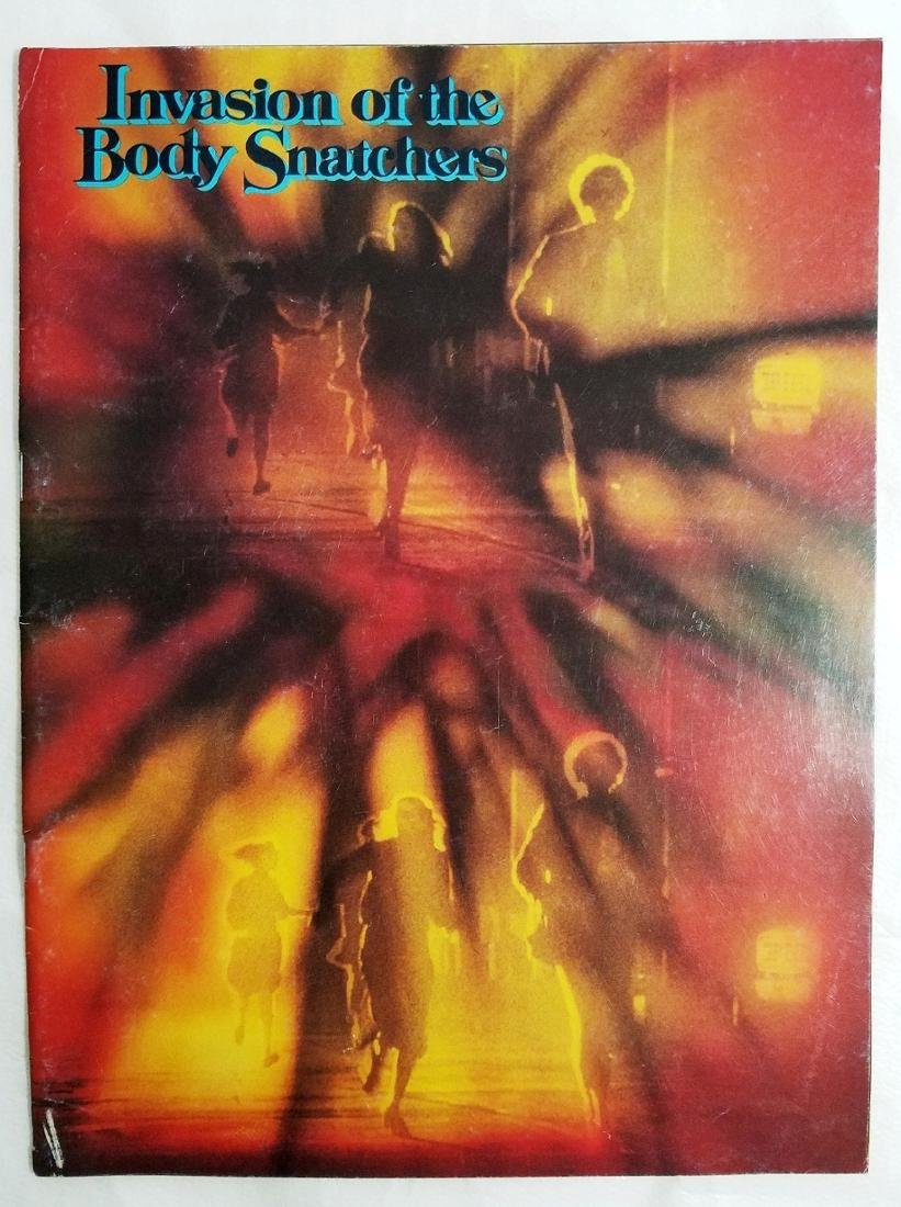 Invasion of the Body Snatchers 1978 Original Poster - 4