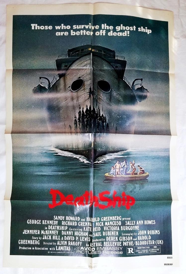 Death Ship 1980 Original Horror Movie Poster