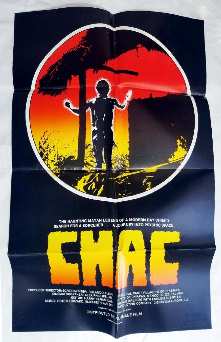 Chac: The Rain God 1975 Original Movie Poster