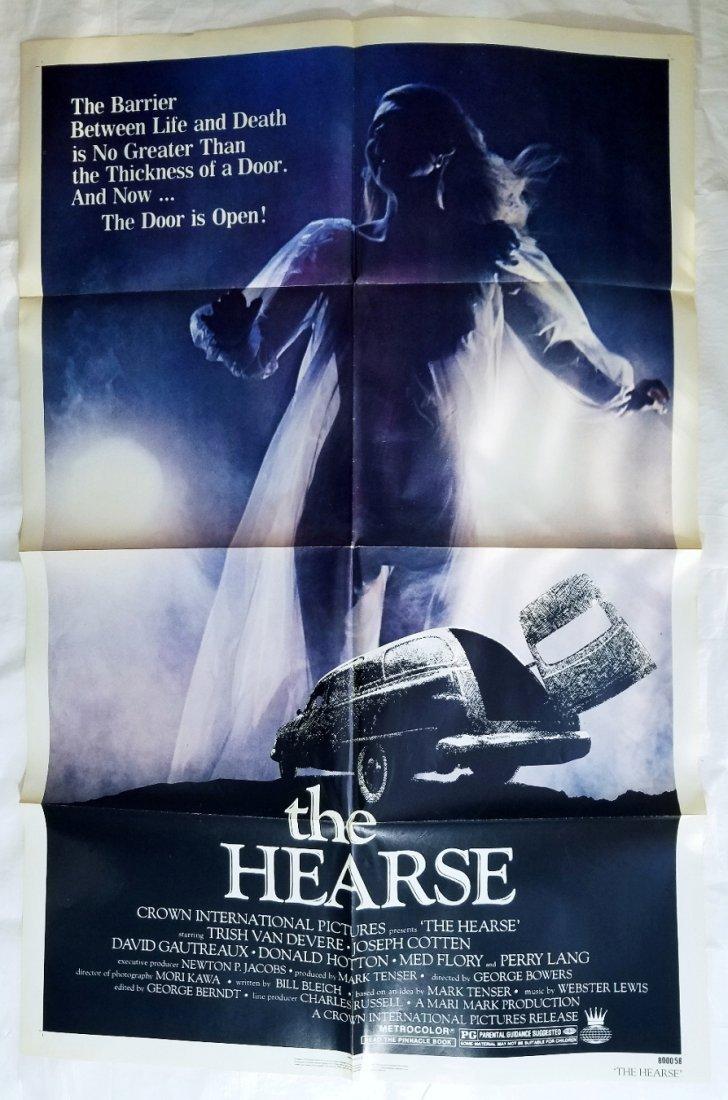 The Hearse: 1980 Original Horror Movie Poster