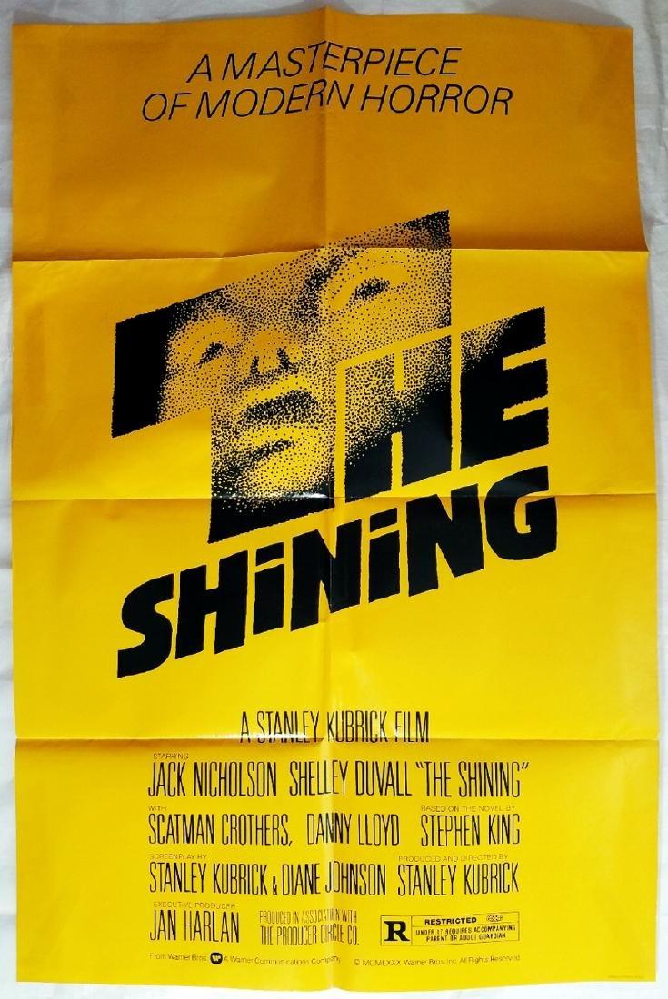 The Shining 1980 Horror Movie Original Advance Poster